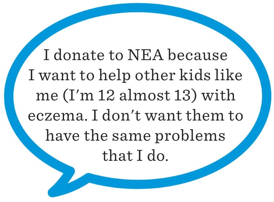 I donate to NEA