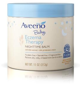 Image of Baby Eczema Therapy Nighttime Balm packaging