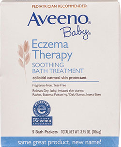 Image of Eczema Therapy Bath Treatment packaging