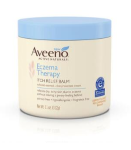 AVEENO® Eczema Therapy Itch Relief Balm