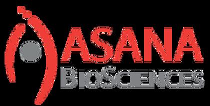 The logo for Asana BioSciences