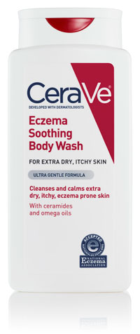 Image of Eczema Soothing Body Wash packaging