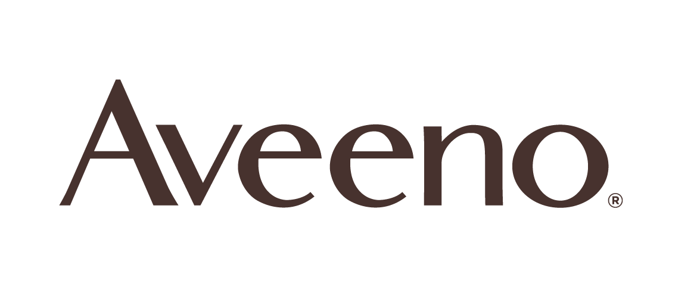 The logo for J&J Aveeno