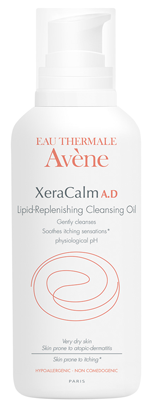 Image of XeraCalm A.D Lipid-Replenishing Cleansing Oil packaging