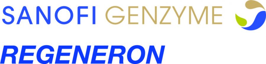 The logo of Sanofi Genzyme Regeneron