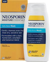 NEOSPORIN® MOISTURE ESSENTIALSDaily Body Wash