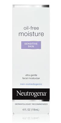 Image of Oil-Free Moisture (sensitive skin) packaging