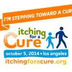 """""""I'm Stepping Toward a Cure"""" Facebook wall post"""