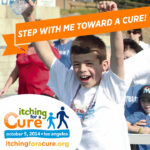 """""""Step With Me Toward a Cure"""" FB wall post image,"""