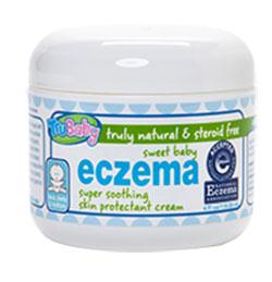 Image of TruBaby Sweet Baby Eczema Cream packaging