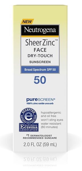 Image of Sheer Zinc™ Dry Touch Face Sunscreen SPF 50 packaging