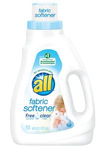 Image of liquid fabric softener packaging