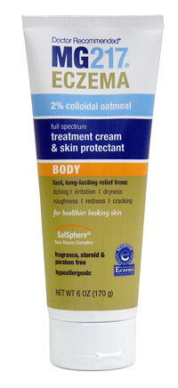 Image of Eczema Treatment Cream & Skin Protectant Body packaging