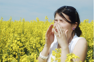 Women with hay fever