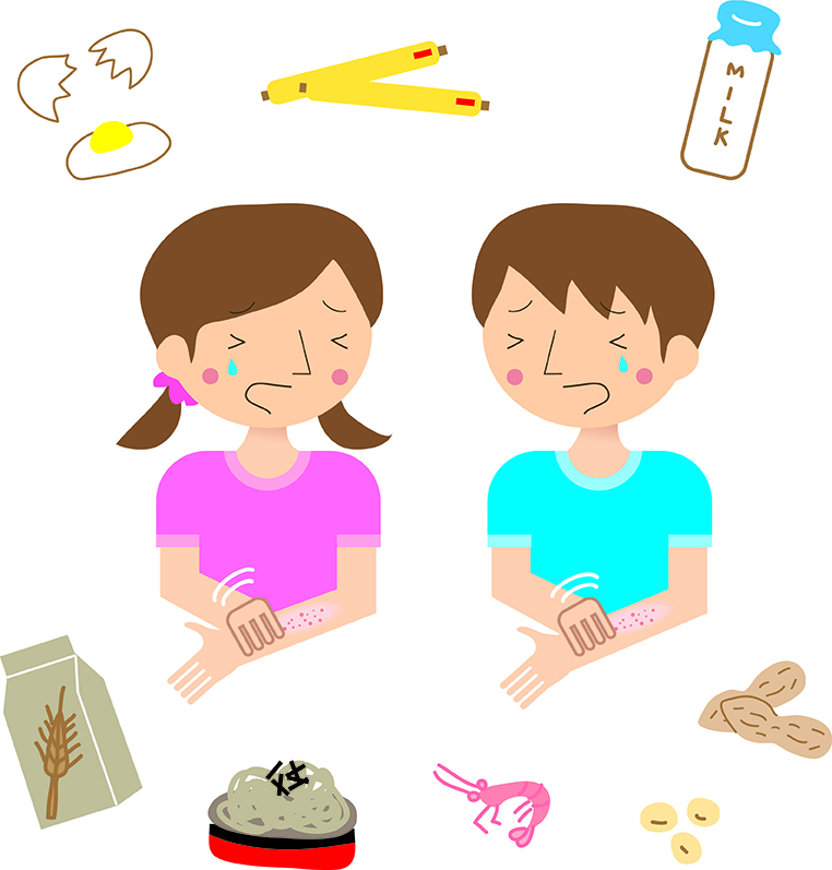 Food Allergy and Children with Eczema
