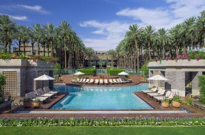 The pool at the Hyatt Regency Scottsdale Resort, where Eczema Expo 2019 will be held