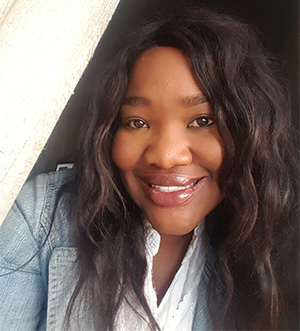 Chawa Munthali-Mphande has atopic dermatitis, seborrheic eczema and dyshidrotic eczema