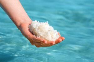 dead sea salt baths can help with eczema