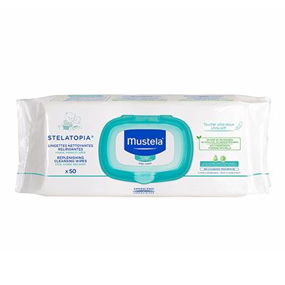 Image of Stelatopia® Cleansing Wipes packaging