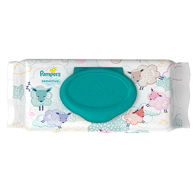 Image of Sensitive Wipes packaging