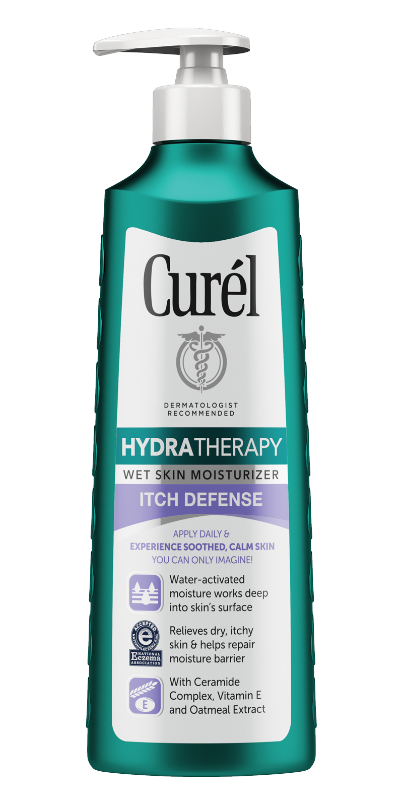 Image of Hydra Therapy Itch Defense Wet Skin Moisturizer  packaging