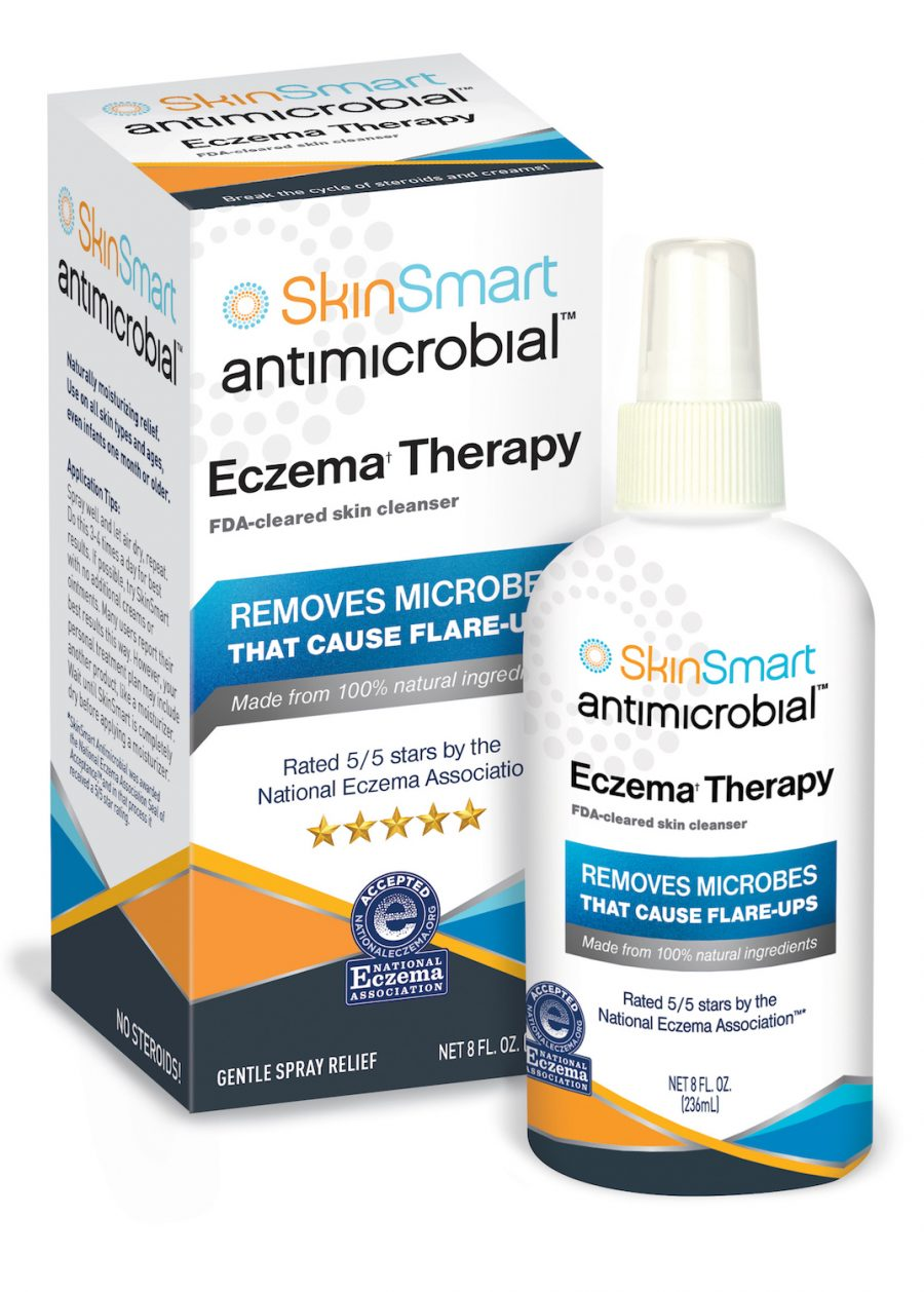 Image of Antimicrobial skin cleanser for Eczema Therapy packaging