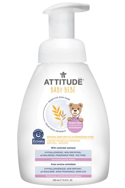 Image of Sensitive Skin BABY Bottle & Dishwashing Foam packaging