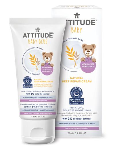 Image of Sensitive Skin BABY Deep Repair Cream packaging