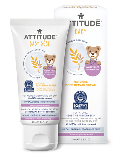 Image of Sensitive Skin BABY Deep Repair Cream packaging
