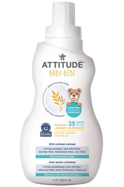Image of Sensitive Skin BABY Laundry Detergent packaging
