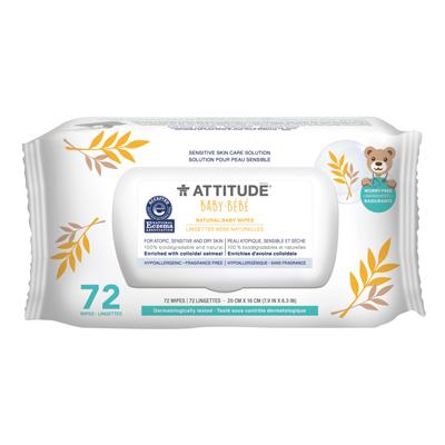 Image of Sensitive Skin BABY Wipes packaging