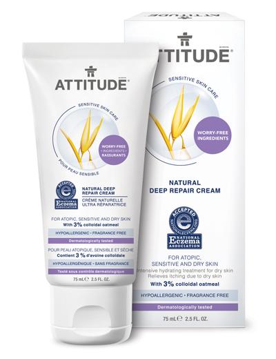 Image of Sensitive Skin Deep Repair Cream packaging