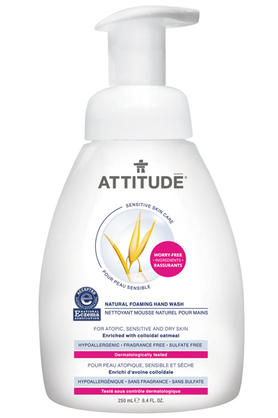 Image of Sensitive Skin Foaming Hand Wash packaging