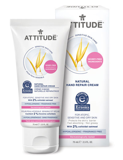 Image of Sensitive Skin Hand Repair Cream packaging