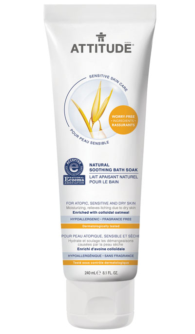 Image of Sensitive Skin Soothing Bath Soak packaging