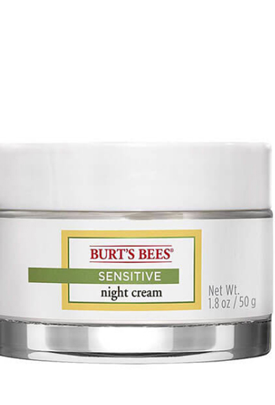 Image of Sensitive Night Cream packaging
