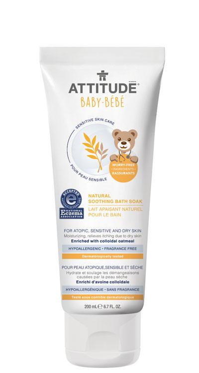 Image of Sensitive Skin BABY Soothing Bath Soak packaging