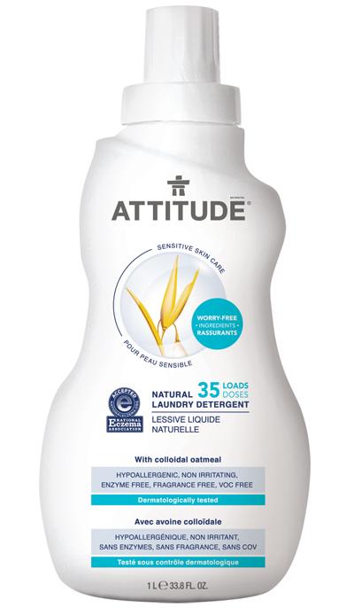 Attitude Sensitive Skin Laundry Detergent National