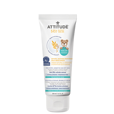Image of Sensitive Skin Baby Soothing Body Cream packaging