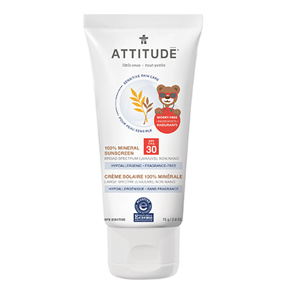 Image of Sensitive Skin Little Ones Sunscreen - SPF 30 - Fragrance Free packaging