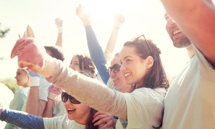 5 unexpected health benefits of volunteering