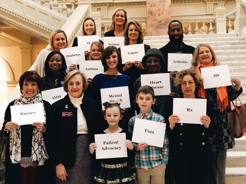 Georgia Hill Day for NEA's Step Therapy Committee