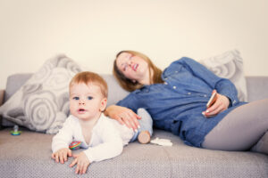 Sleep disturbances, exhaustion common among mothers of eczema children
