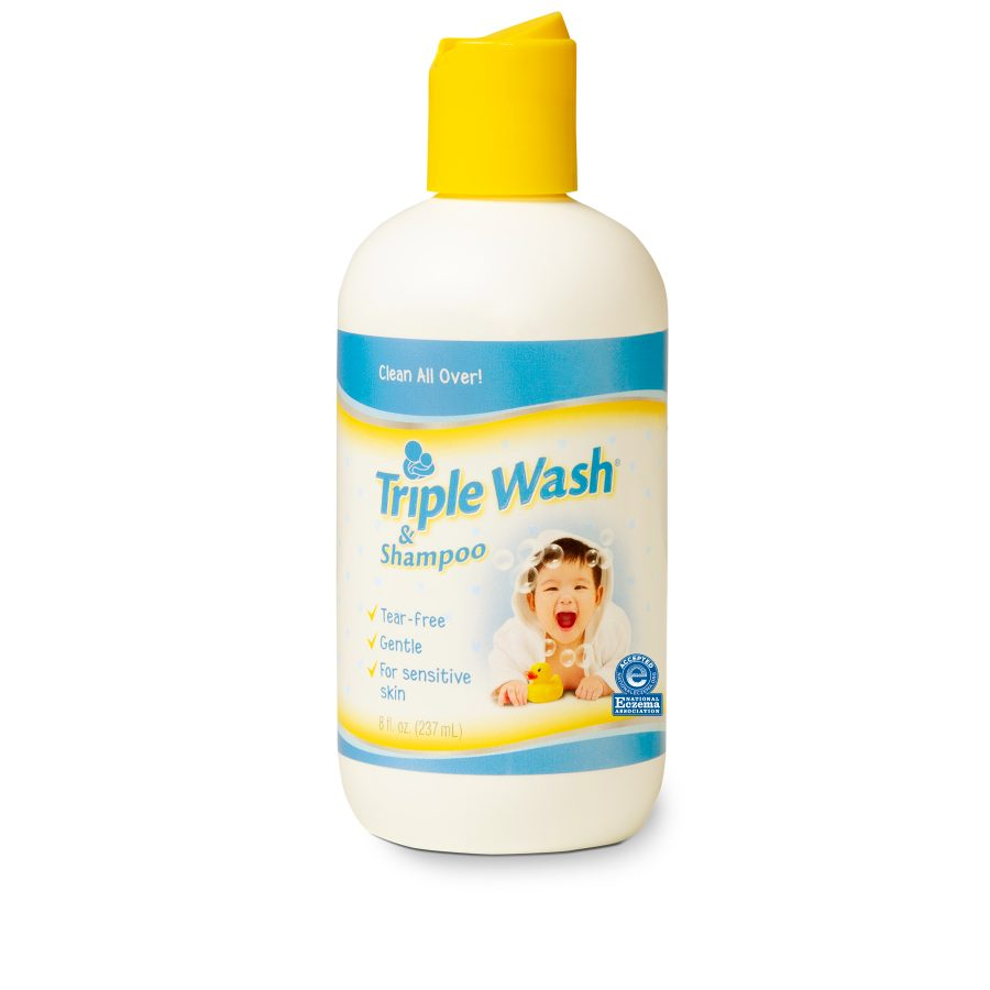 Image of Gentle Baby Body Wash/Shampoo packaging