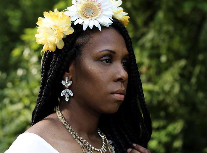 Beauty blogger Eartha Terrell, who has eczema, offers makeup tips
