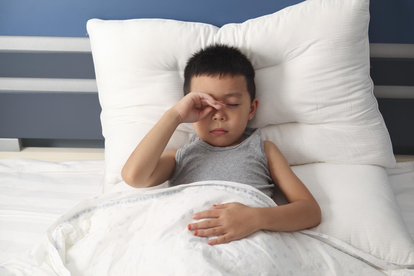 Sleep problems affect many children with eczema