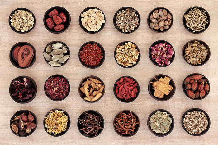 Chinese herbs can be used to treat eczema