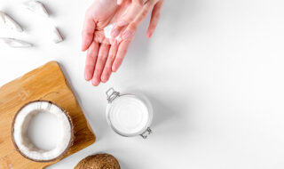 coconut oil is a helpful natural therapy for some people with eczema
