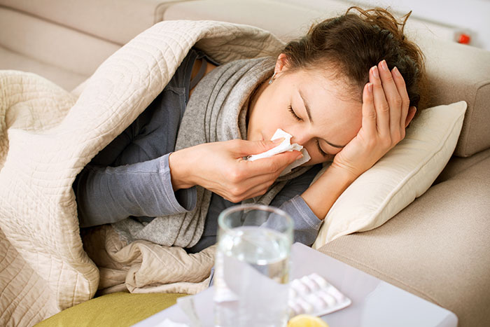 flu shots should be given differently to people with atopic dermatitis