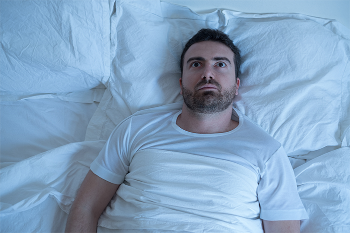 People with eczema have trouble sleeping